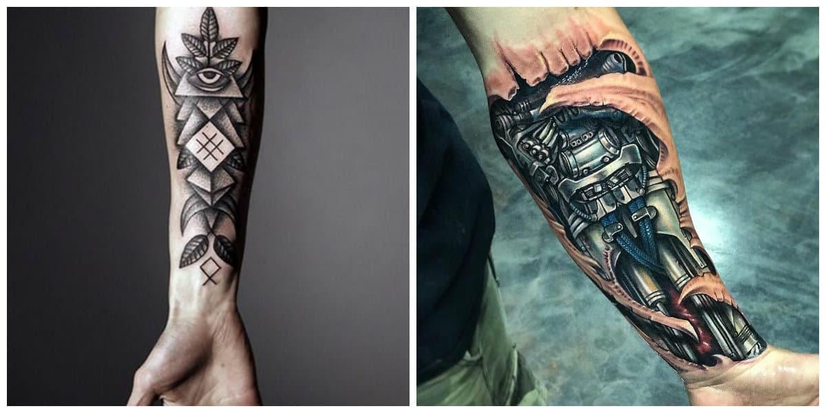 Tatuajes Para Hombres En El Brazo Disenos Unicos E Ideas Geniales