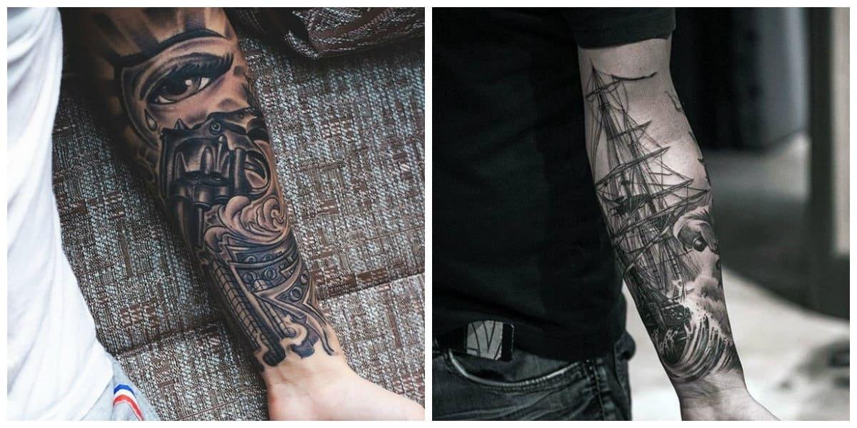 Tatuajes para hombres en el brazo- ideas inclusivas para los hombres