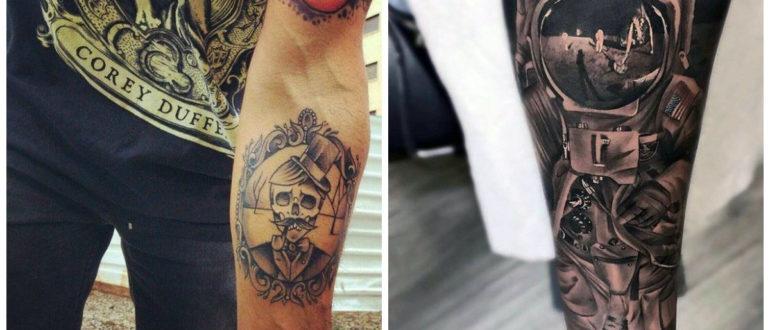Tatuajes para hombres en el brazo- mejores tendencias de moda masculina