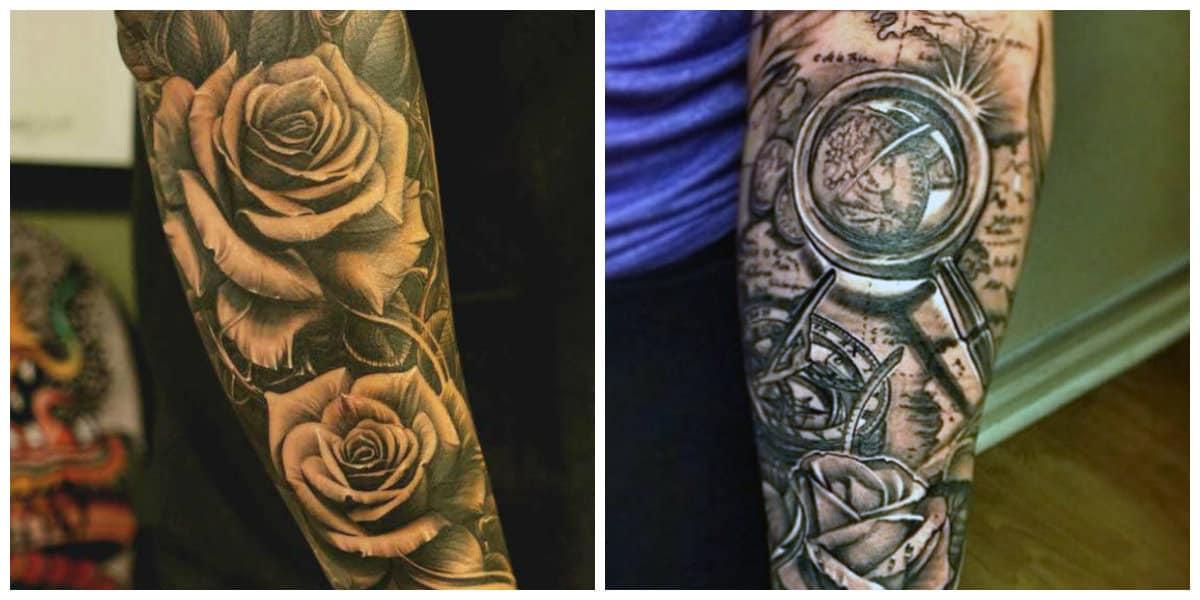 Tatuajes para hombres en el brazo- tendencias modernas en uso