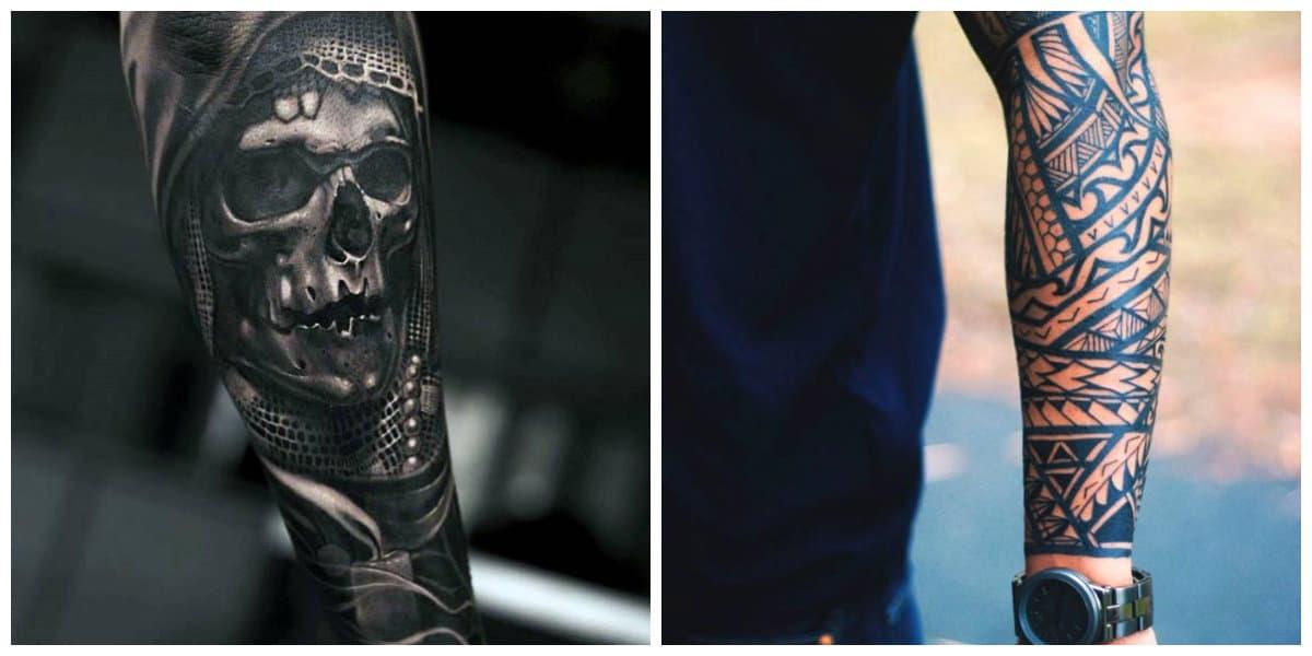 Tatuajes para hombres en el brazo- mejores signos para los hombres
