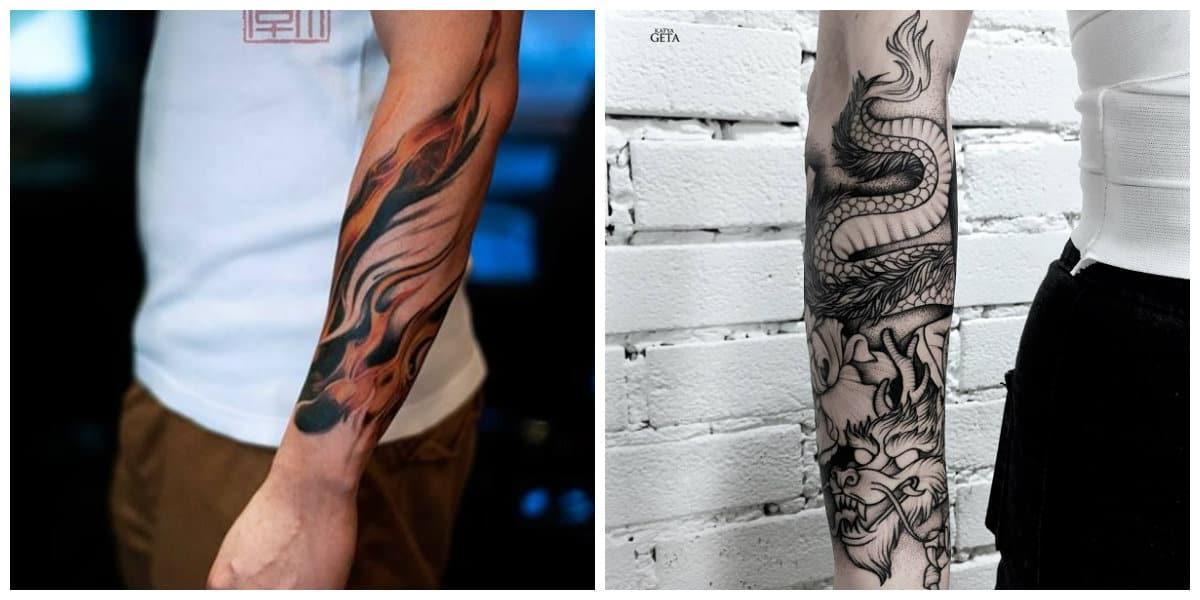 Tatuajes para hombres en el brazo- parte visible muy pronto