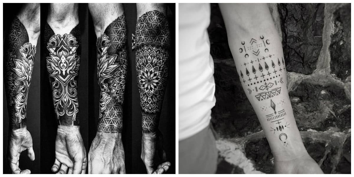 Tatuajes para hombres en el brazo- grandes ttuajes sobre antebrazo