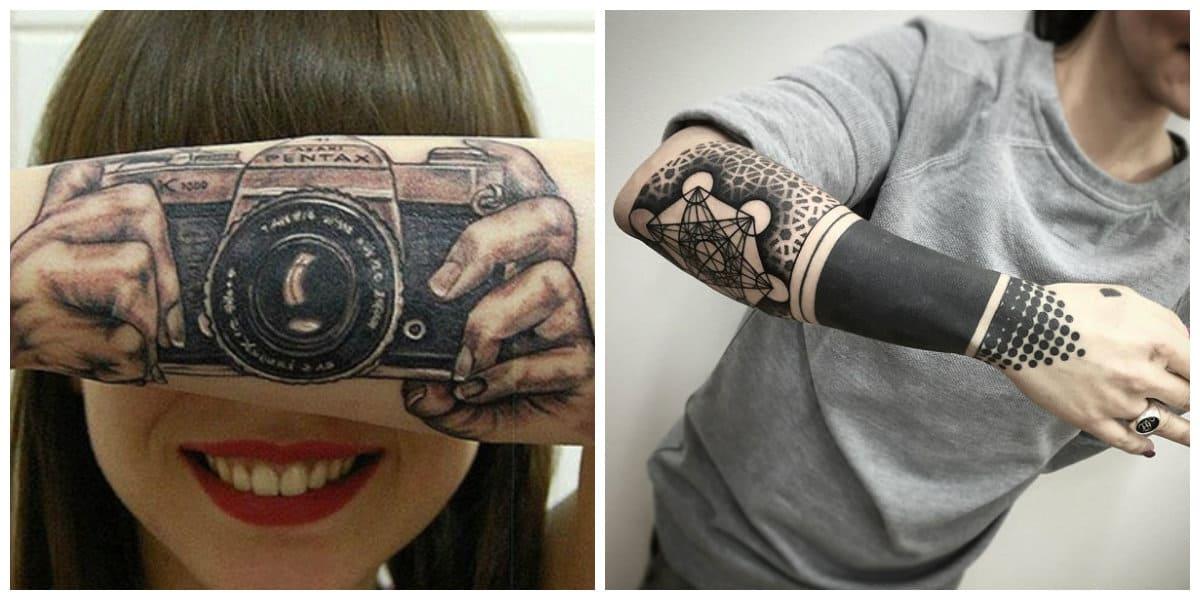 Tatuajes para hombres en el brazo- ideas creativas de tataujes de moda