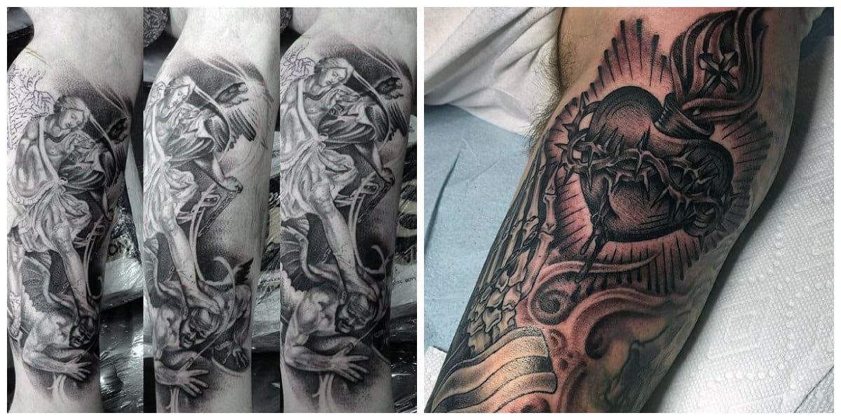 Tatuajes religiosos- todas las tendencias principales en uso
