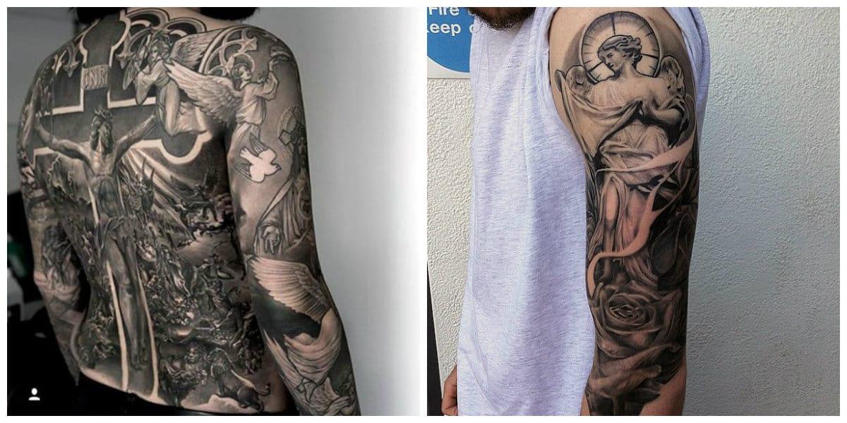 Tatuajes religiosos- imagenes que simbolizan el cristianismo