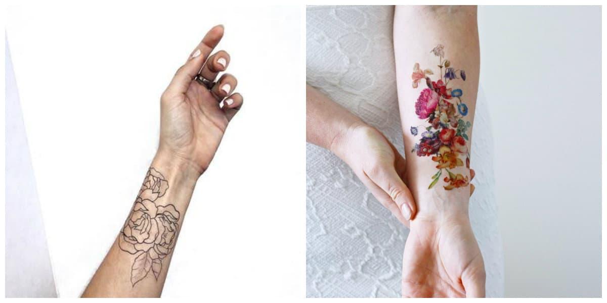 Tatuajes temporales- todas las tendencias principales en uso