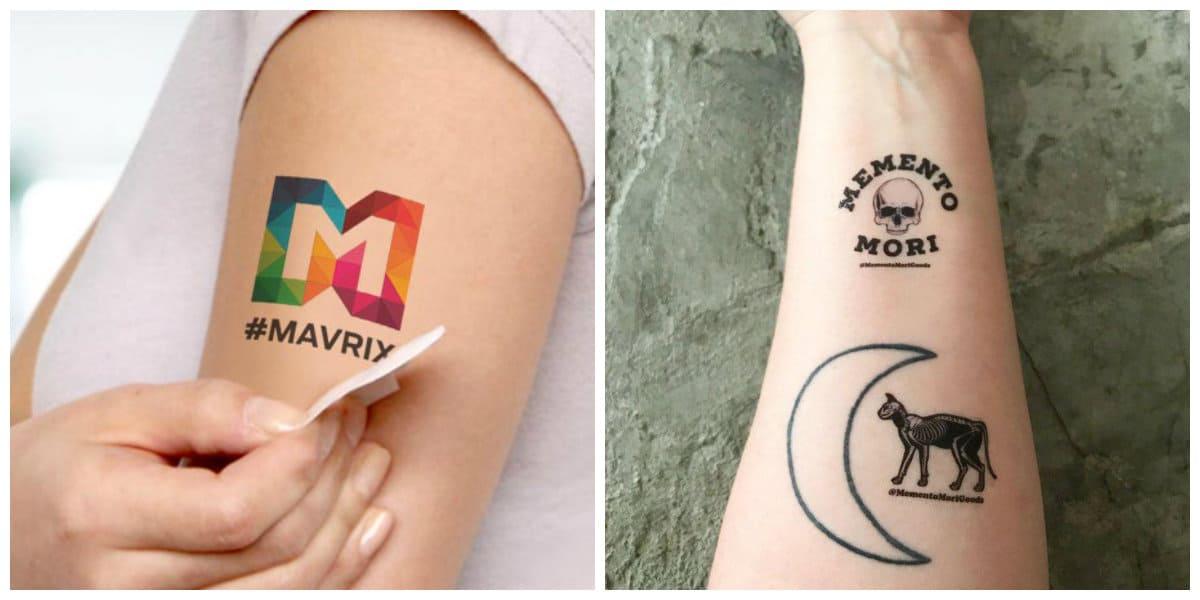 Tatuajes temporales- algunos consejos en fotos y ejemplos para ti