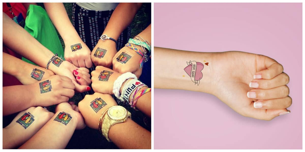 Tatuajes temporales- simples tataujes que no duraran mas de una semana