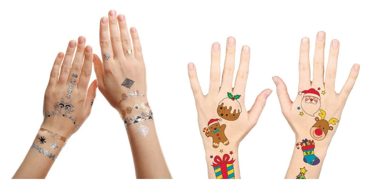 Tatuajes temporales- diferentes estilos y dibujos de moda