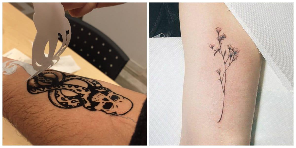 Tatuajes temporales- son usados tanto para hombres como para mujeres de moda