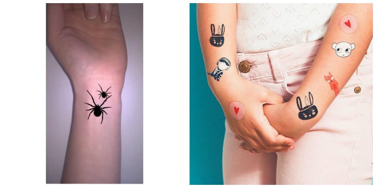 Tatuajes temporales- tecnica de como hacer tatuajes temporales