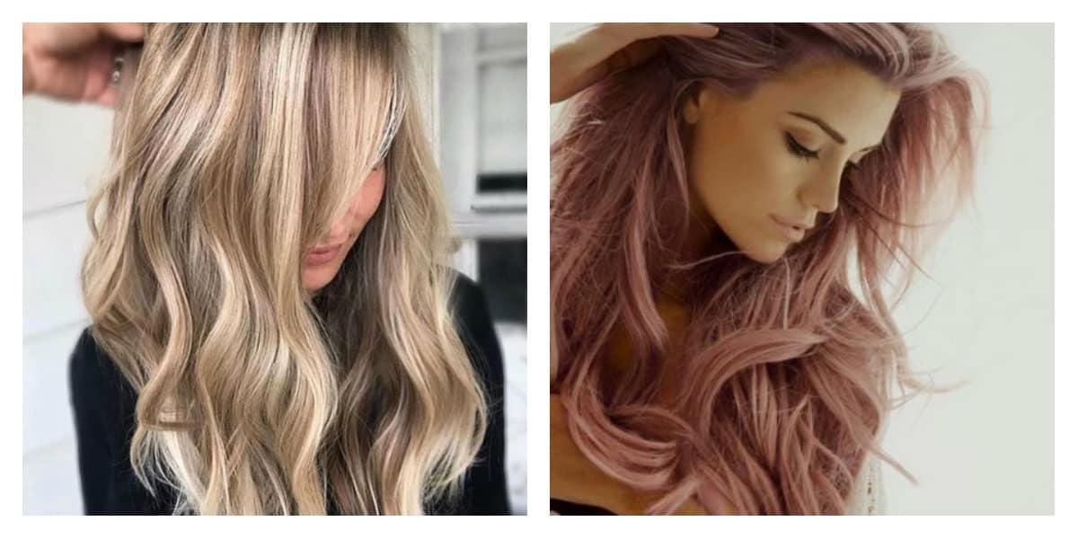 Tendencia en color de pelo- tonalidades muy modernas