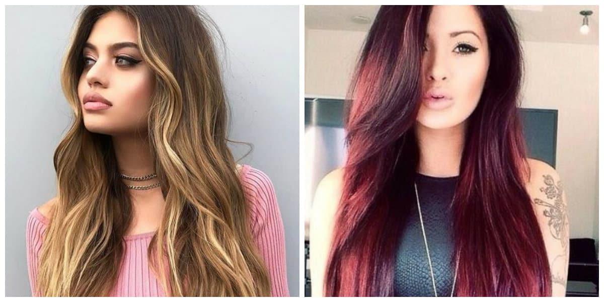 Tendencia en color de pelo- tonalidades de rojo y rubio