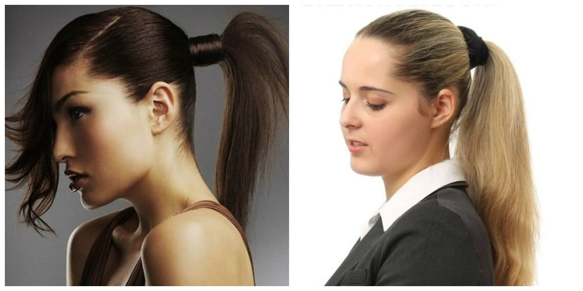 Tendencias de peinados 2020- opciones para cola de caballo