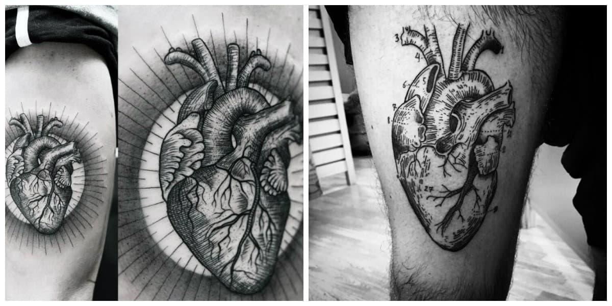 Corazones para tatuajes- hay un simbolismo grande detras de esta imagen