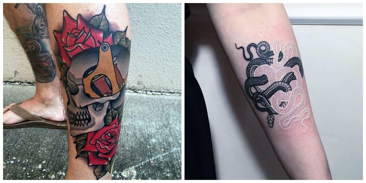 Los mejores tatuajes 2018- ideas principales para hacerte un tatuaje moderno