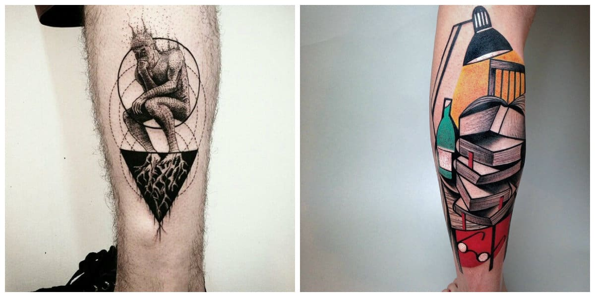 Los mejores tatuajes 2018- imagenes muy creativas para la moda masculina