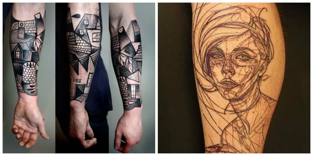 Tatuajes abstractos- diferentes imagenes abstractas estan de moda
