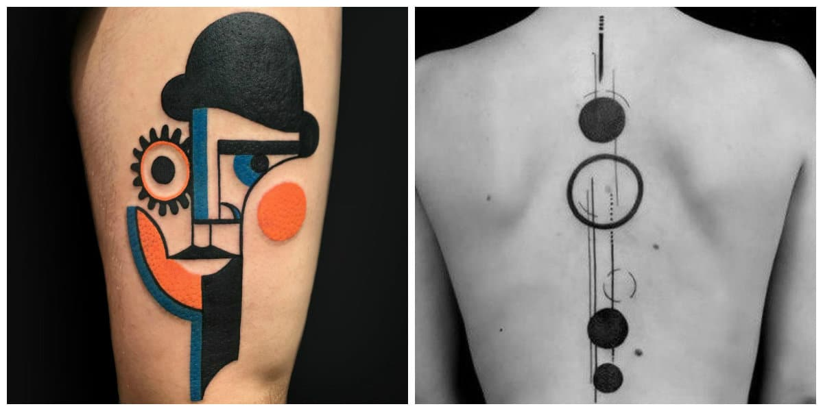 Tatuajes abstractos- lo cavan tanto hombres como las mujeres