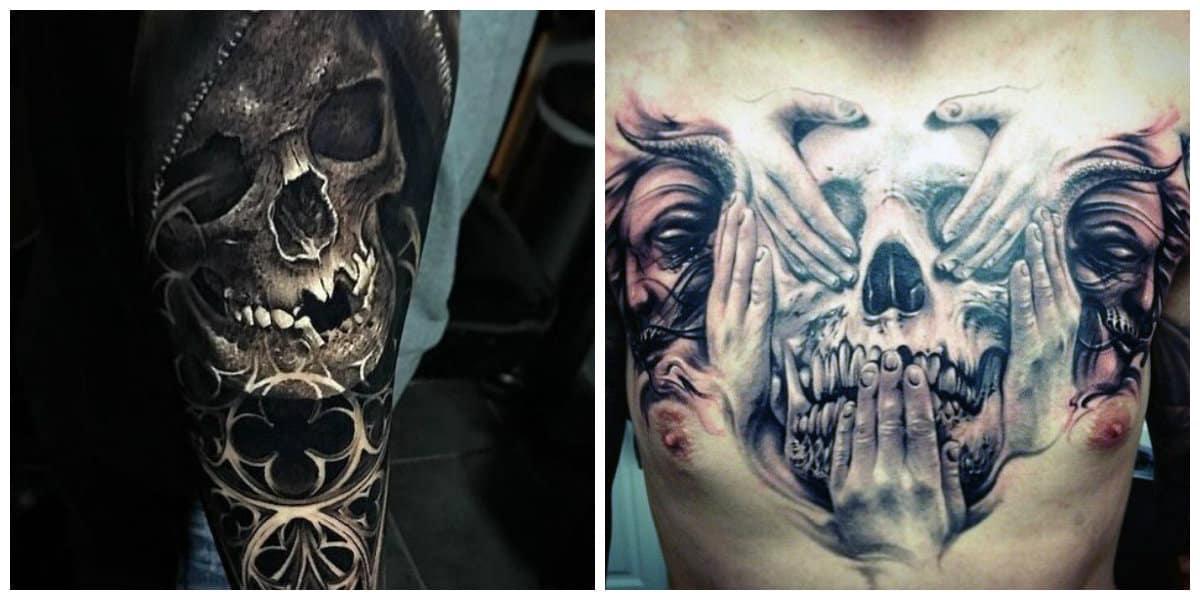 Tatuajes calaveras- ideas principales de calaveras para hombres