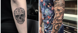 Tatuajes calaveras- imagenes y tendencas de estes tipo de tatuajes de moda
