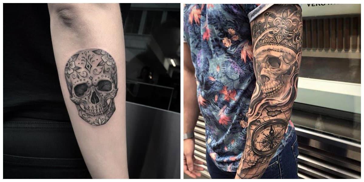 Tatuajes Calaveras Las Tendencias Principales De Los Tatuajes