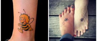 Tatuajes de abejas- ideas creativas de este tipo de tatuajes modernas