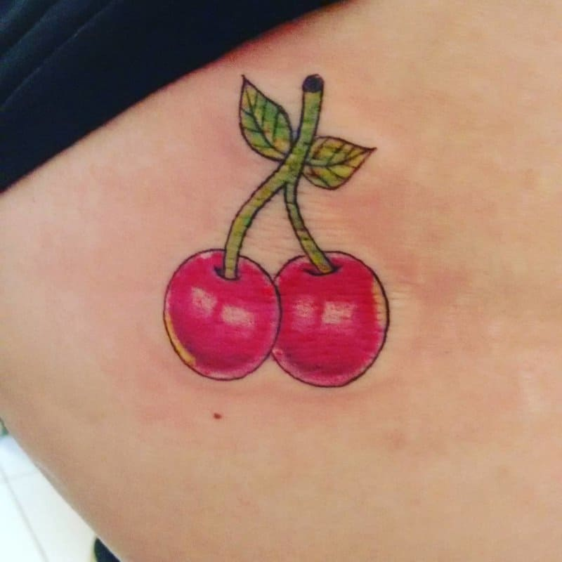 Tatuajes-de-cerezas-Las-ideas-y-tendencias-de-tatuaje-de-cereza-dulce-para-todos