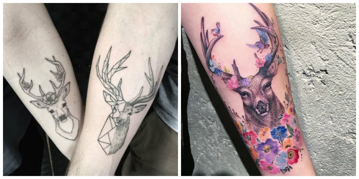 Tatuajes Venados Tatuajes De Ciervos Y Venados Para