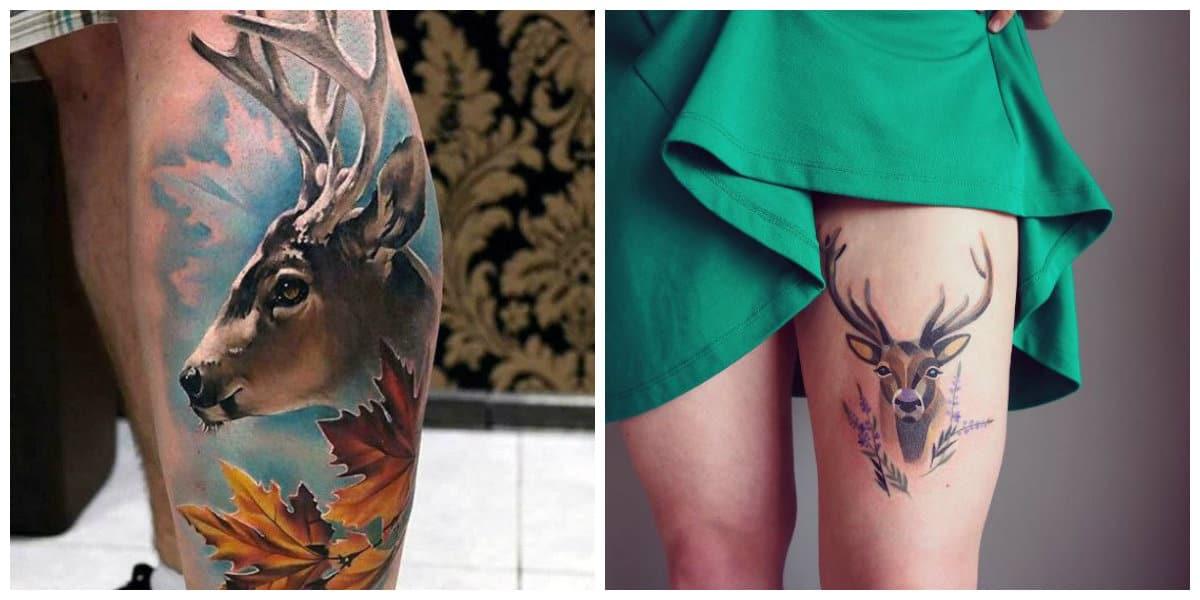 Tatuajes de ciervos- las mujeres llagn com idas mas creativas que los hombres