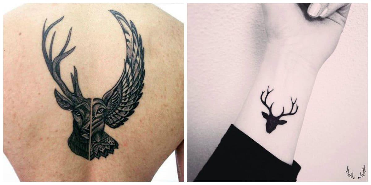 Tatuajes de ciervos- representaciones de imagenes de ciervos con su simbolismo