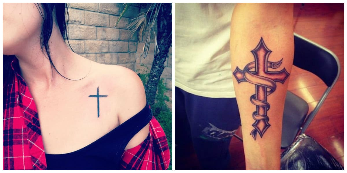Tatuajes de cruzados- tendencias principales de tatuajes religiosos
