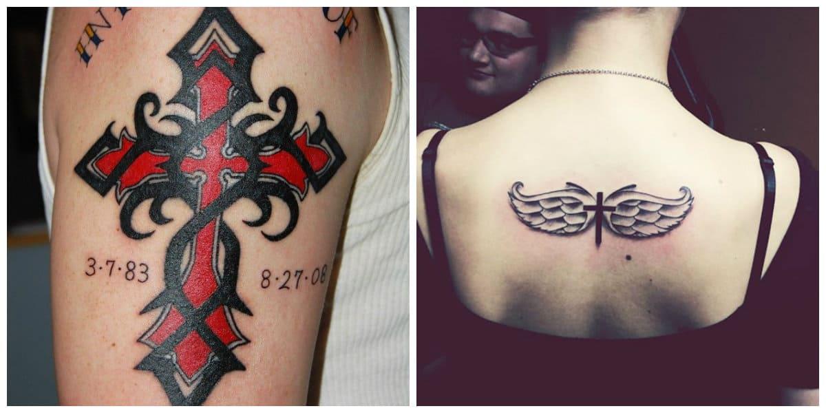 Tatuajes de cruzados- una tendencias moderna para hombres y mujeres