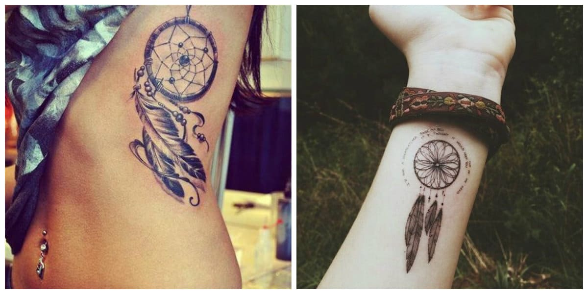 Tatuajes de dreamcatcher- ideas e imagenes principales de moda
