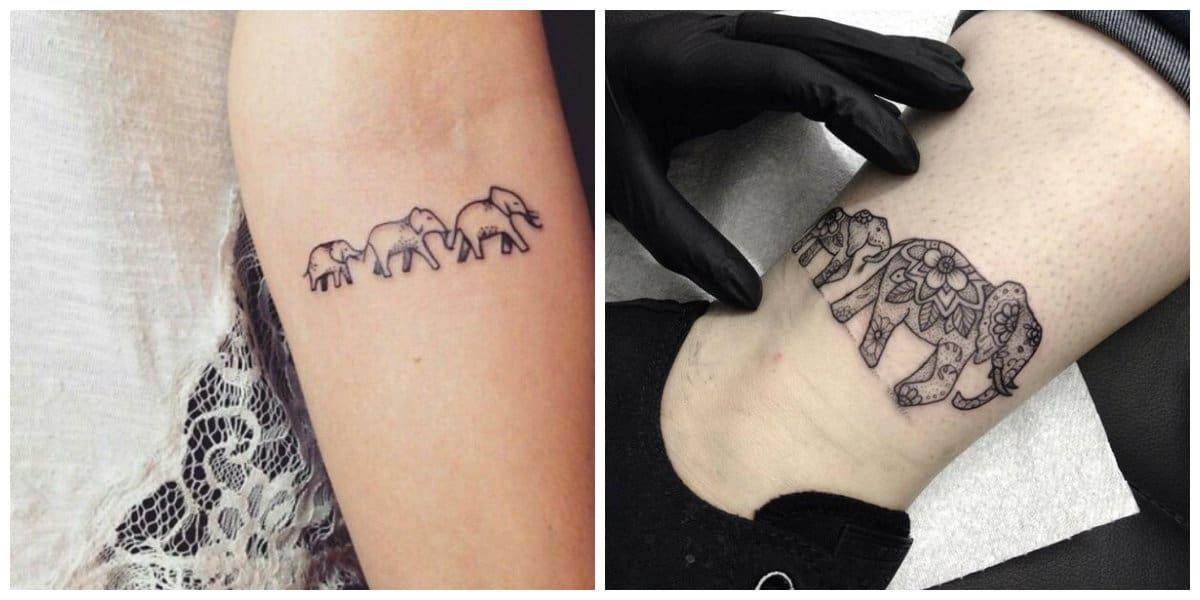 Tatuajes de elefantes- ineresantes ideas e imagenes de elfantes