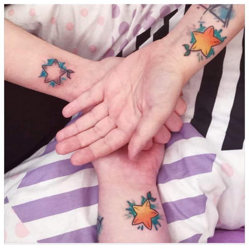 Tatuajes-de-estrellas-Diseños-y-significados-de-los-tatuajes-de-estrellas-de-moda