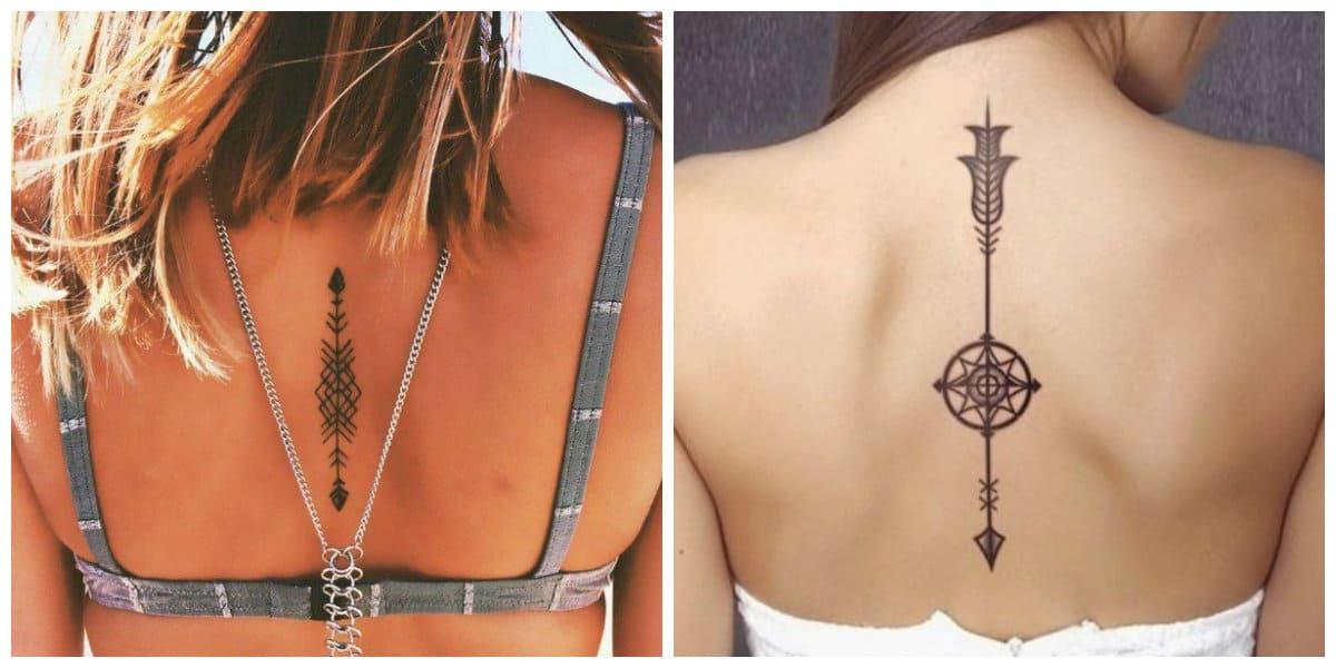Tatuajes de flechas en el brazo- tendencias modernas de moda