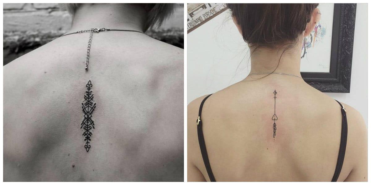 Tatuajes de flechas en el brazo- es popular entre las mujeres