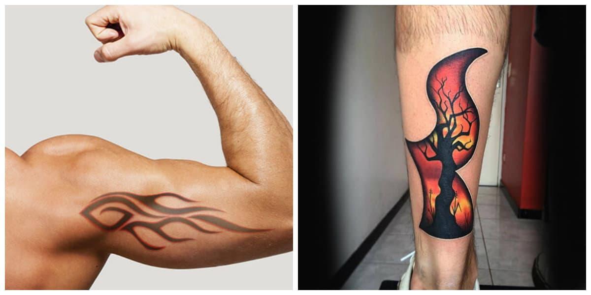 Tatuajes de fuego- es un simbolo potente en el cristianismo y en otras religiones