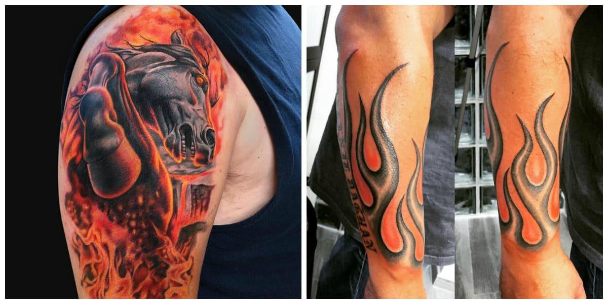 Tatuajes de fuego- esta presente en muchas culturas antiguas y modernas