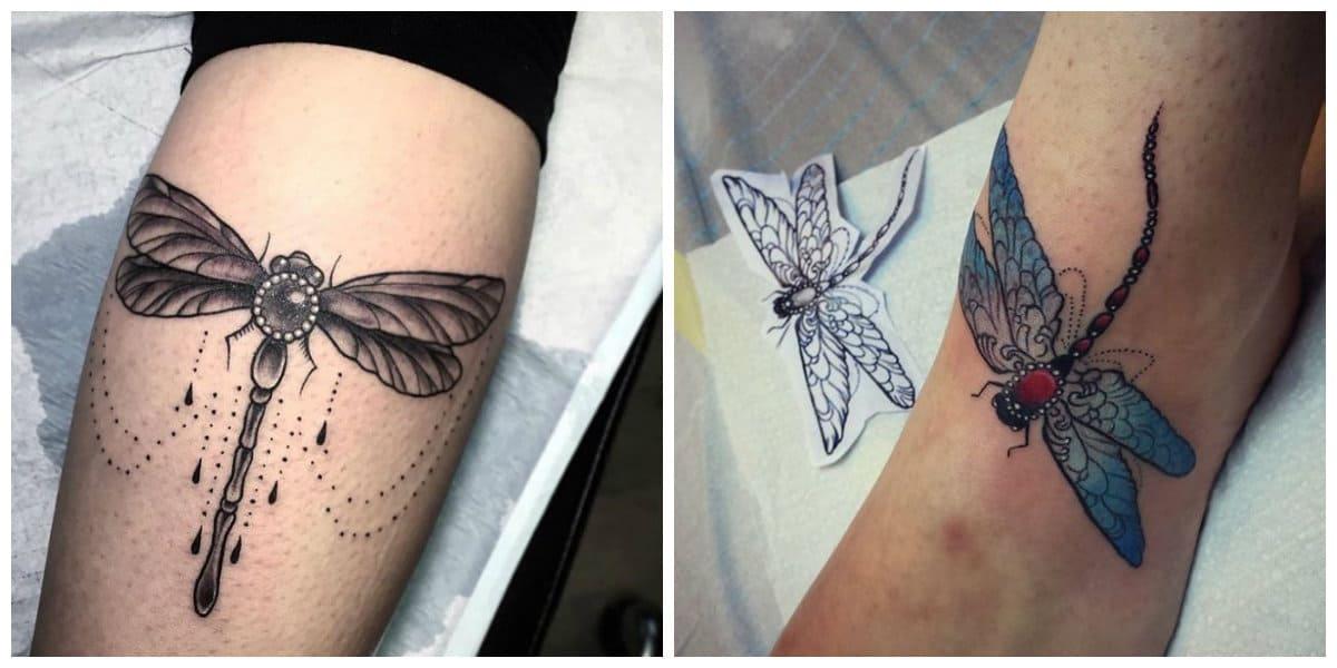 Tatuajes De Libelulas Todas Las Tendencias Principales Para Amantes