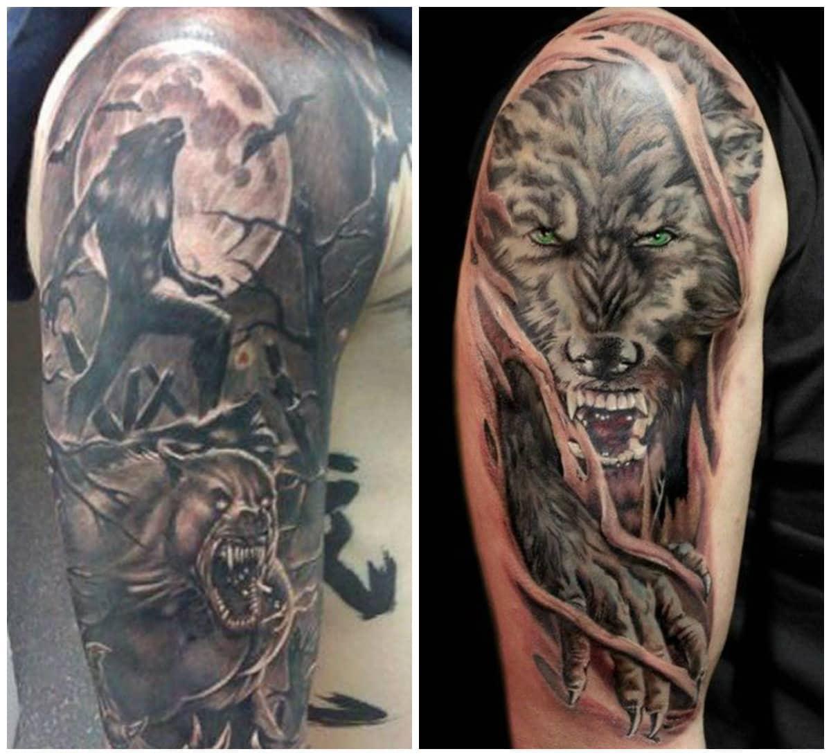 Tatuajes de lobos en el hombro: Tatuajes locos de lobos para todos los interesados