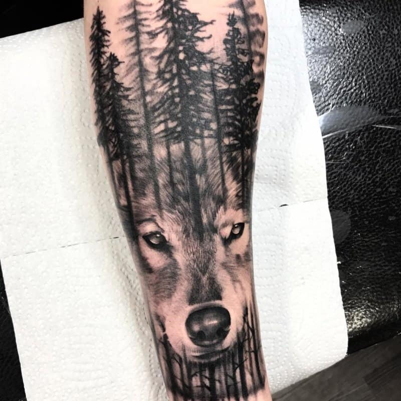 Tatuajes -e-lobos-Impresionantes-tatuajes-de-lobo-para-los-amantes-de-este-animal