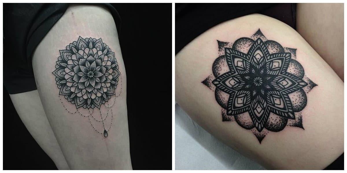 Tatuajes de mandalas- tendencias de los tatuajes geometricos
