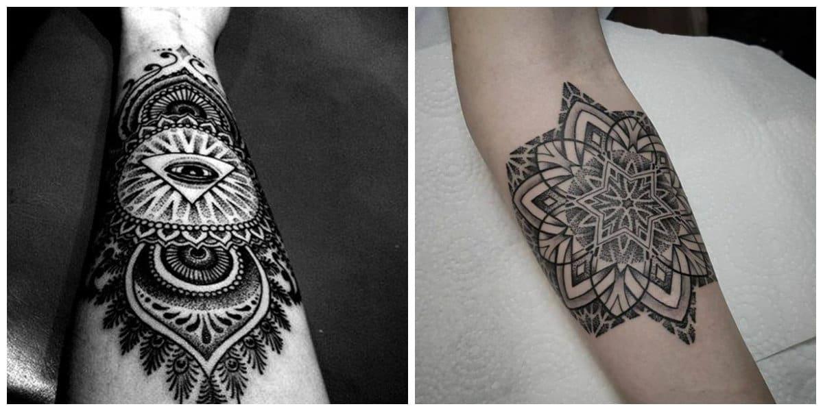 Tatuajes de mandalas- algunas tendencias principales femeninas