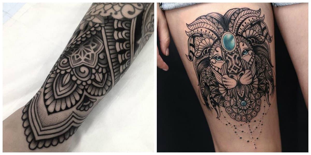 Tatuajes de mandalas- en el cristianismo tiene otra simbologia