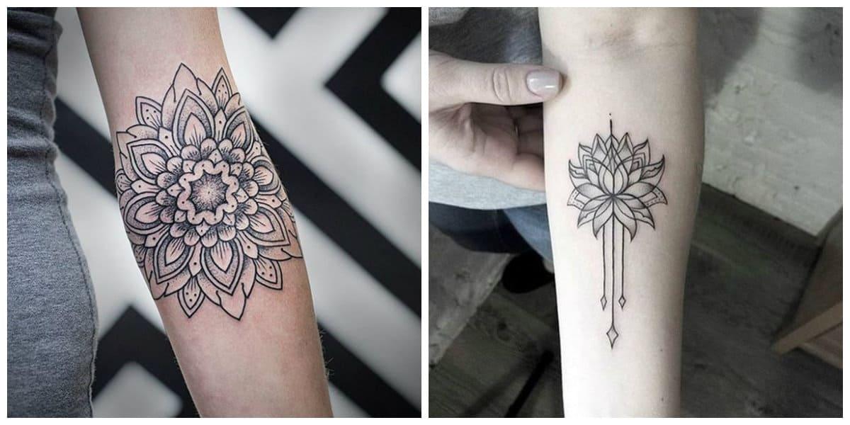 Tatuajes de mandalas- tendencias femeninas para este ano de la moda