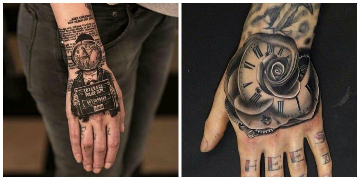 Tatuajes de mano- tendencias principales para tener en cuenta