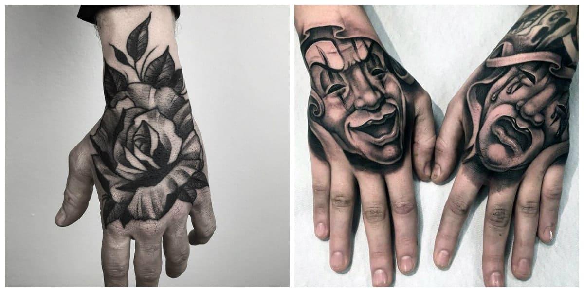 Tatuajes de mano- se conisderaba como un tipo de tatuaje criminal